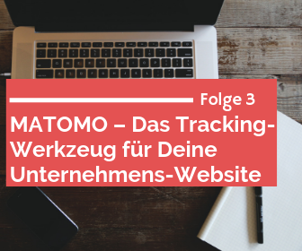 Matomo Tracking für die Website