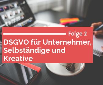 Podcast: DSGVO für Unternehmen