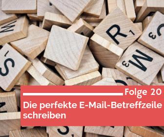 Die perfekte E-Mail-Betreffzeile